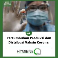 Pertumbuhan Produksi dan Distribusi Vaksin Corona.