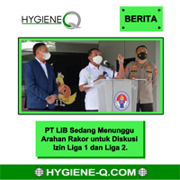 PT LIB Sedang Menunggu Arahan Rakor untuk Diskusi Izin Liga 1 dan Liga 2.